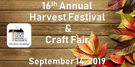 16th Annual Harvest Festival & Craft Fair tickets