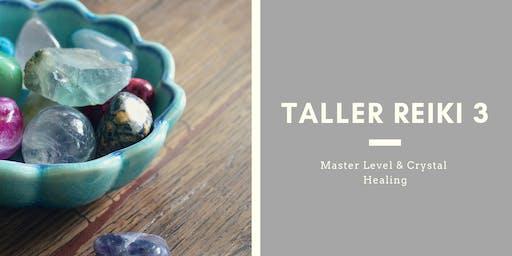 Taller Cristaloterapia y Usui Reiki Nivel de Maestria