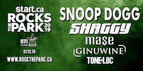 Snoop Dogg, Shaggy, Ma$e, Ginuwine, Tone-Loc entradas