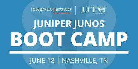 Juniper Networks JUNOS Bootcamp | Nashville, TN tickets
