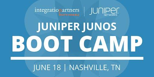 Juniper Networks JUNOS Bootcamp | Nashville, TN