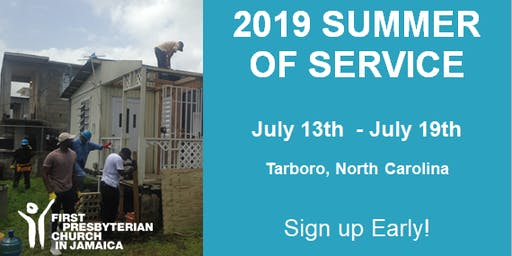 2019 Summer of Service