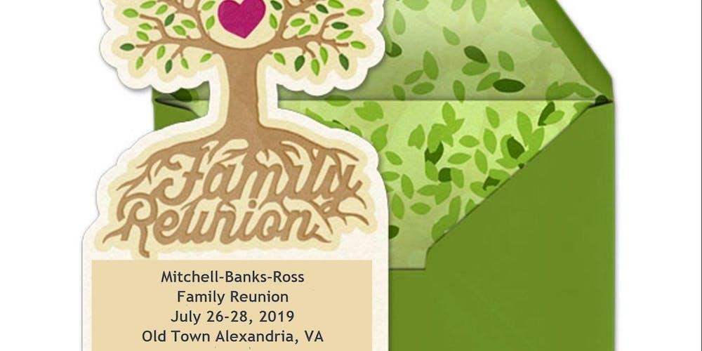d2782c2d7 Mitchell-Banks-Ross Family Reunion Banquet & Museum Tour Tickets, Fri, Jul  26, 2019 at 5:00 PM | Eventbrite