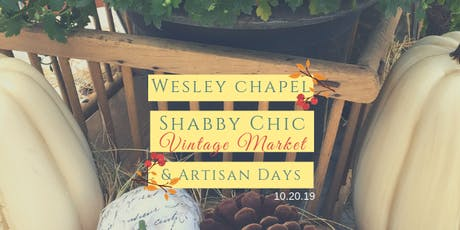Fall Wesley Chapel Shabby Chic Vintage Market & Artisan Day tickets