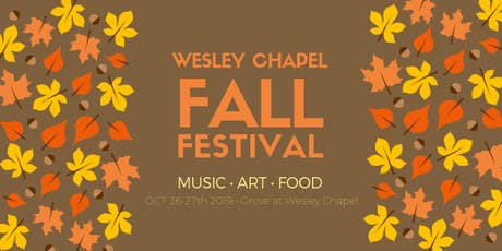 15th Annual Wesley Chapel Fall Festival entradas