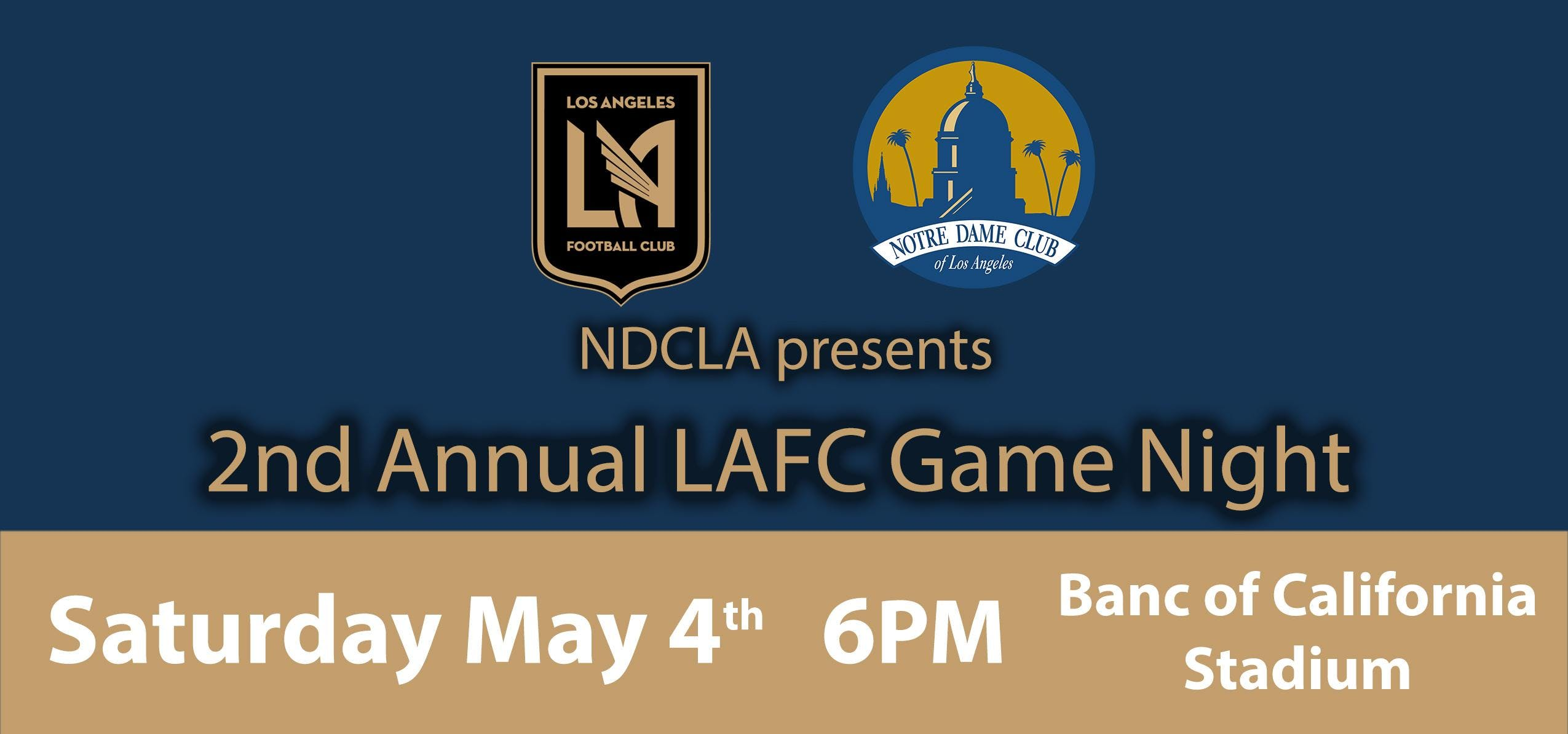 NDCLA presents the 2nd Annual LAFC Game Night