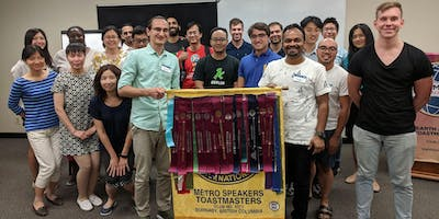Metro Speakers Toastmasters Weekly Meeting