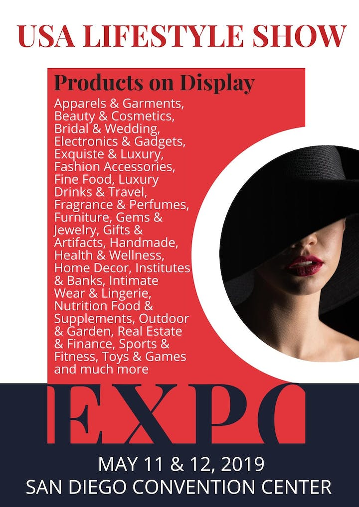 USA Lifestyle Show - May 11 & 12, 2019. Hall E, San Diego Convention Center. San Diego. CA.USA Lifestyle Show is the world's premier trade event dedicated ...