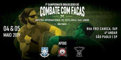 1° Campeonato Brasileiro de Combate com Facas