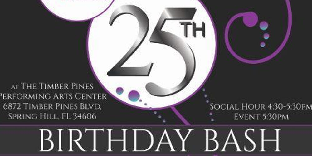 Dawn Center S 25th Birthday Bash Tickets Thu Apr 25 2019 At 4 30