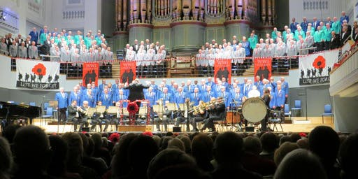 English Association of Male Voice Choirs, Annual Concert