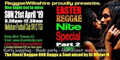 Reggae Night Special Melksham
