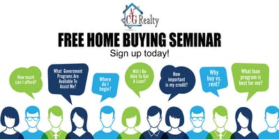 """End of Summer Homeownership"" Free Home Buyers Seminar"