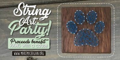 String Art Party - Paws With A Cause