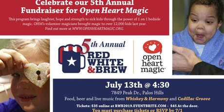 Red White and Brew 2019 tickets