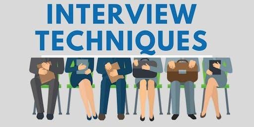 WORKFORCE EVENT: Interview Techniques & Processes