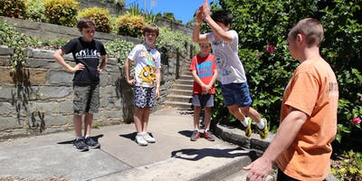 Intermediate homeschool Outdoor Parkour Classes (invitation only)