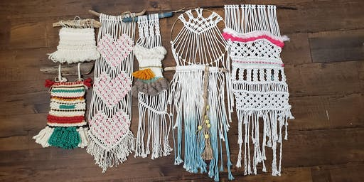 Afternoon Summer Craft Camp: Macrame/Weaving Wall Hanging and Tie Dye