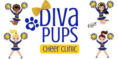 Diva Pups Cheer Clinic | Ages 5.5 - 8 yrs.