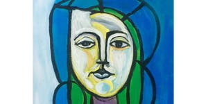 Portrait Of A Girl by Picasso - Paint & Sip Night -...