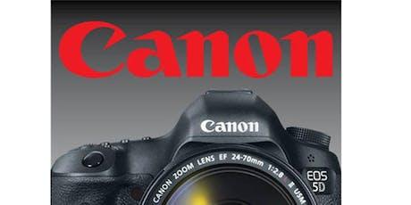 Canon DSLR Basics with Mike Monezis – SA tickets