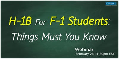 How To Successfully Change From F-1 OPT To H-1B