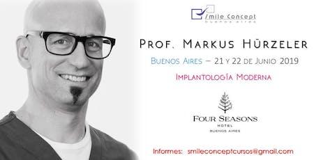 Implantologia Dental Moderna - Prof. Mark Hurzeler entradas