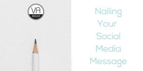 Nailing Your Social Media Message tickets