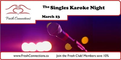 The Singles Karaoke Night