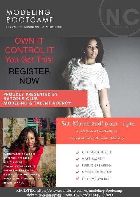 NC ~MODELING BOOTCAMP
