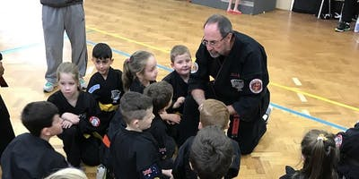 Kids Kenpo Karate Seminar with Graham Lelliott - all the way from America!