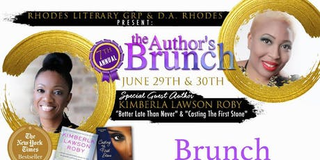 The Author's Brunch Chicago 2019 tickets