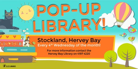 Pop-up Library - Stockland, Hervey Bay - (Ages 5 and under) tickets