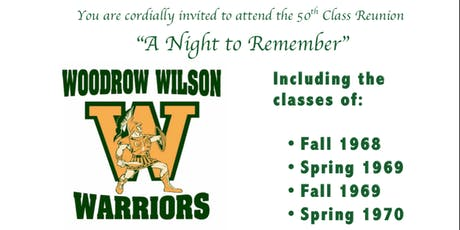 Woodrow Wilson 50th Class Reunion tickets