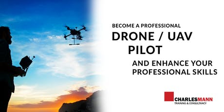 Professional Drone and UAV Pilot & Flying Training Course - HRDF Approved - DJI Drones tickets