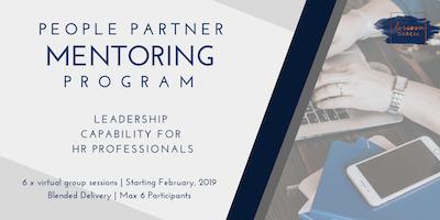 People Partner Mentoring Program - Small Group Mentoring For HR Professionals