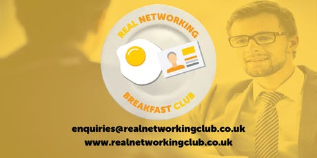 REAL Networking BREAKFAST Club tickets