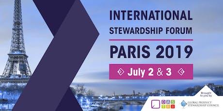 INTERNATIONAL STEWARDSHIP FORUM - PARIS 2019 tickets