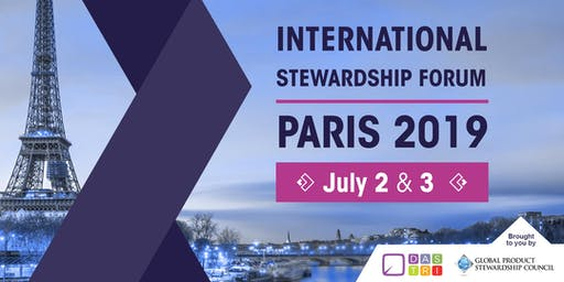 INTERNATIONAL STEWARDSHIP FORUM - PARIS 2019