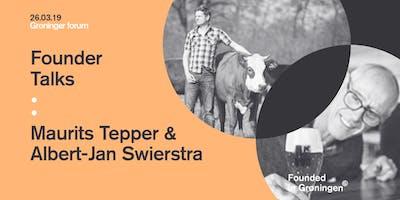 Founder Talks : Maurits Tepper & Albert-Jan Swierstra