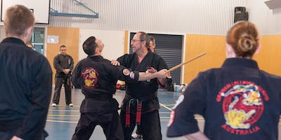 Adults Kenpo Karate Seminar with Graham Lelliott - all the way from America!
