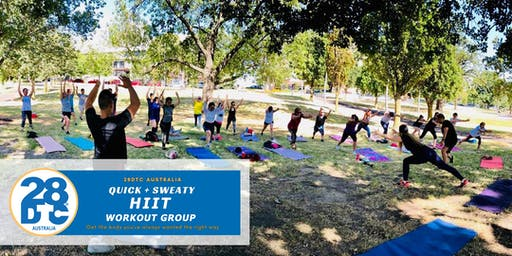 Hiit Workout @ Boxhill Outdoor By 28DTC Australia (VIC)