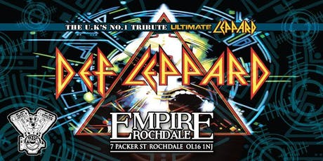 Def Leppard - The UK's No.1 Tribute Ultimate Leppard tickets