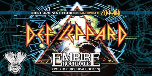 Def Leppard - The UK's No.1 Tribute Ultimate Leppard