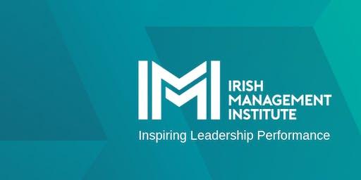 "IMI Masterclass 3 Dublin: Deborah Rowland ""Is Change Changing?"""