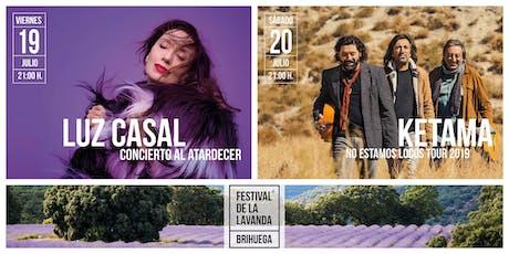 Luz Casal - Festival de la Lavanda 2019 entradas
