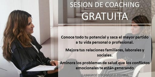 Sesión gratuita Individual de Coaching en MADRID-Previa cita