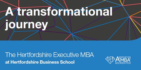 Hertfordshire MBA Student and Alumni Reconnection Event tickets
