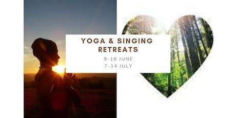Yoga & Singing Retreats billets