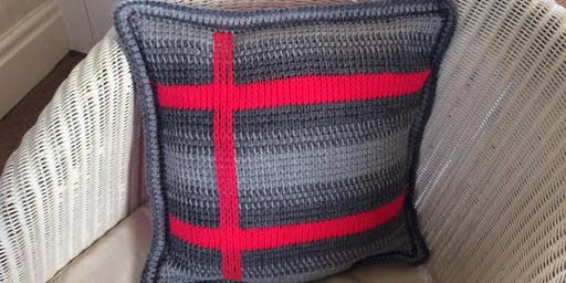 Introduction to Tunisian Crochet - Cushion Workshop